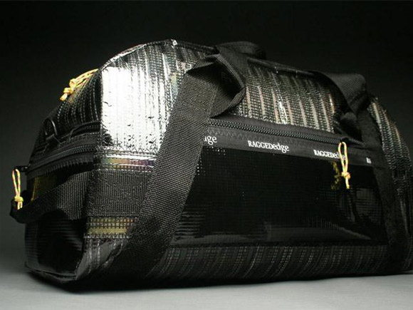 RAGGEDedge Airstream Carbon Fiber Duffel Bag - Carbon Fiber / Black