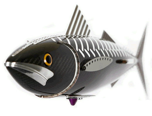 Carbon fiber fish sculpture by Alastair Gibson