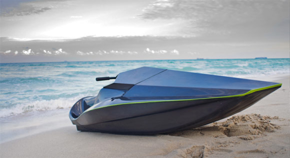 Samba XRS carbon fiber electric jet ski