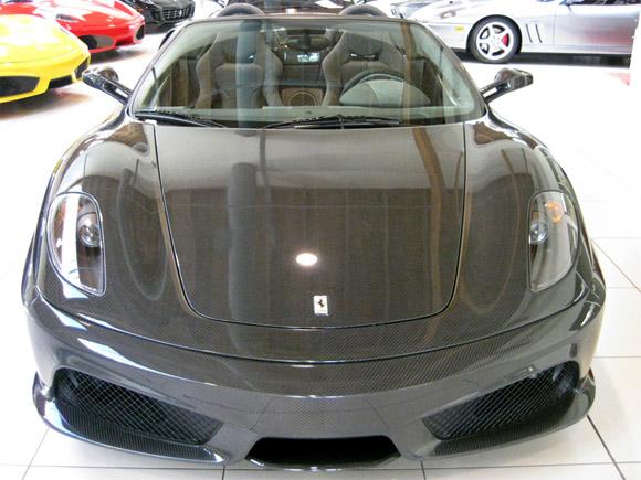 Carbon fiber Ferrari F430 16 Scuderia Spider