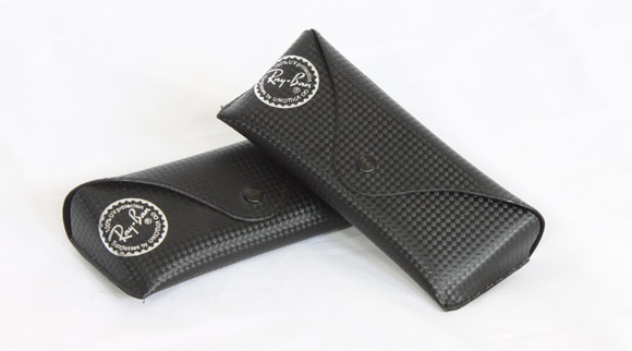 Ray Ban carbon fiber leather cases