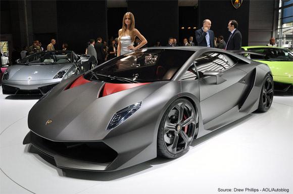 Lamborghini Sesto Elemento carbon fiber concept