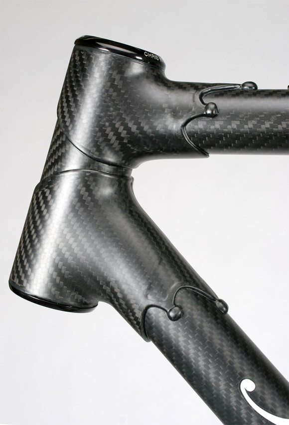 Prototype Carbon Fiber Bicycle Frame from Independant Fabrication ...