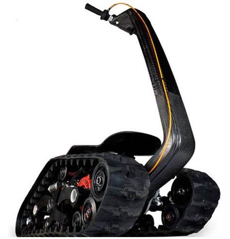 DTV Shredder with carbon fiber handles