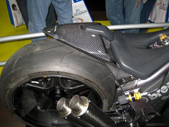 Honda concept carbon fiber motorcycle