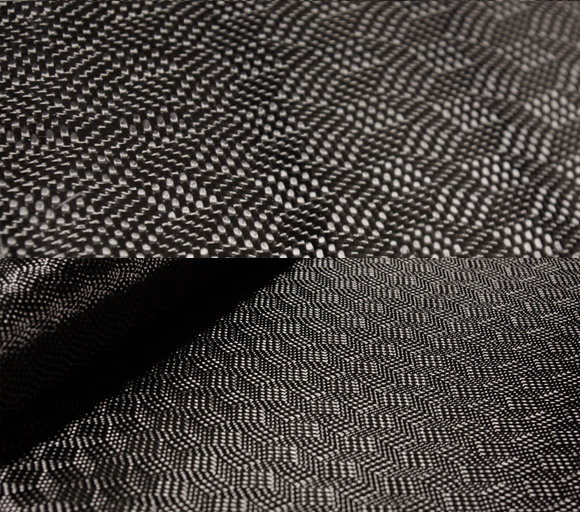 Labyrinth carbon fiber fabric