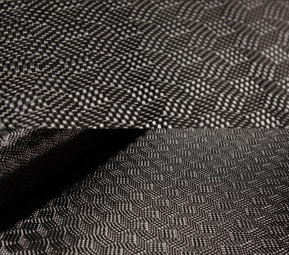 Labyrinth carbon fiber fabric