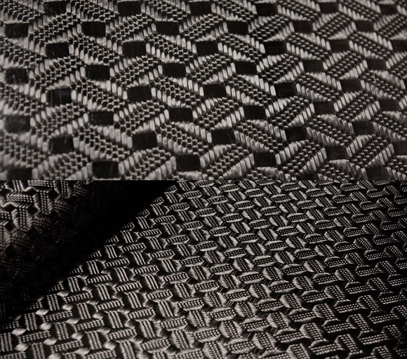 Roswell carbon fiber fabric