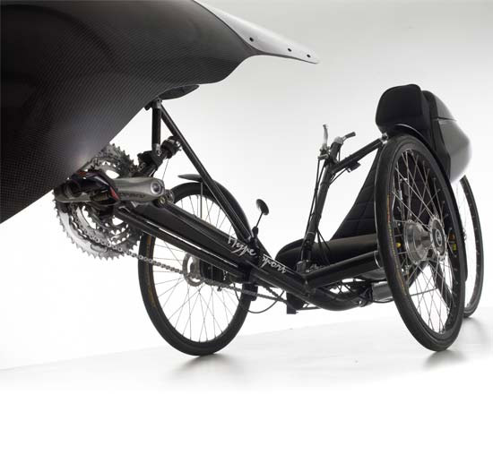 Carbon fiber Windcheetah tricycle