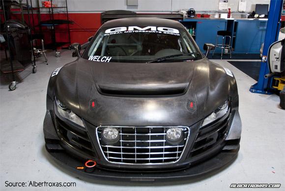 GMG's carbon fiber Audi R8 LMS GT3 R16