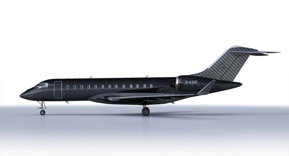 Brabus carbon fiber private jet