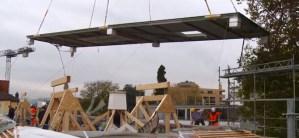 Carbon Fiber Roof Soars through the Air