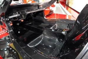 Ferrari F70 Enzo carbon fiber chassis from Paris 2012