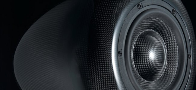 Morel Fat Lady carbon fiber speakers