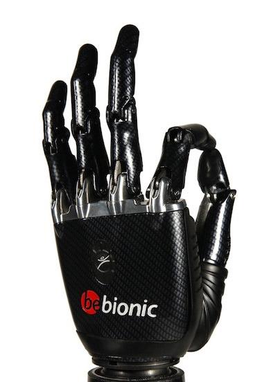 BeBionic3 myoelectric hand