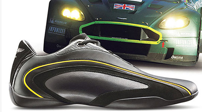 Sabelt and Aston Martin Carbon Fiber Racing Shoes