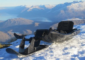 Snolo carbon fiber Stealth-X sled
