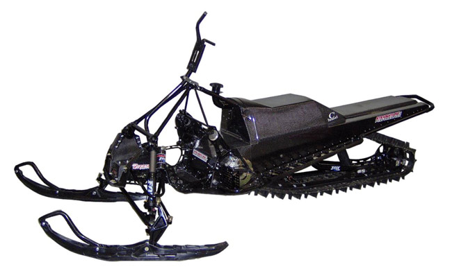 C3 carbon fiber snowmobile chassis