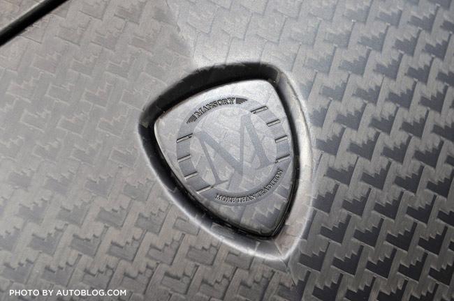 Mansory Carbonado up close shot of carbon fiber weave