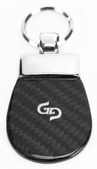 Caladorf carbon fiber keychain