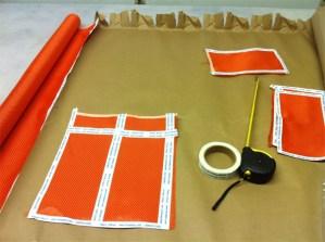 Cutting Kevlar