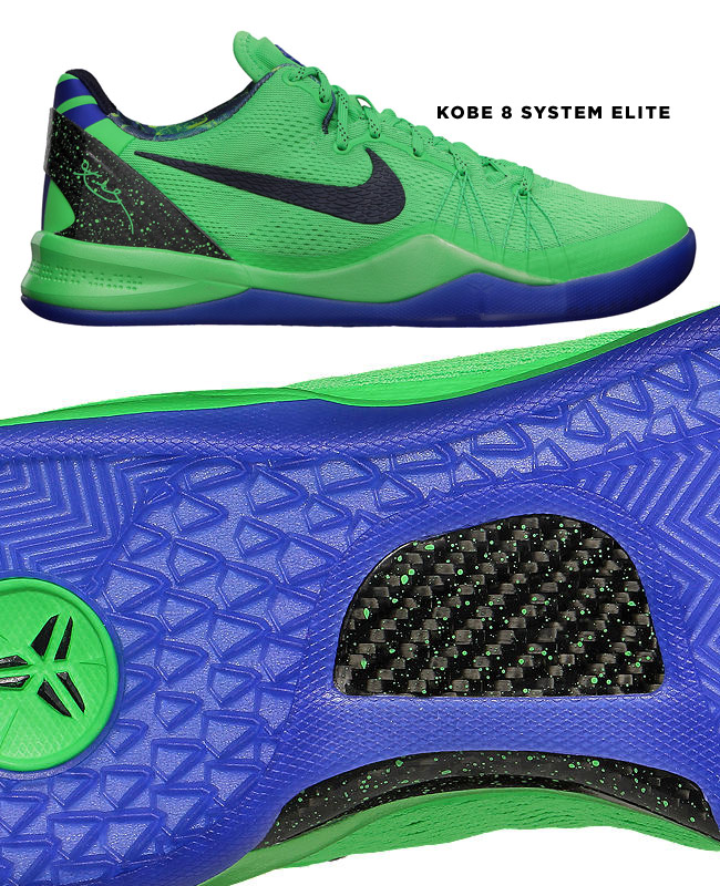 Nike Kobe 8 System Elite carbon fiber basketball shoe