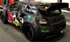 Citroen DS3 carbon fiber body panels