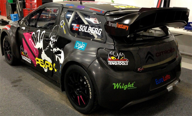 Citroen DS3 carbon fiber body panels