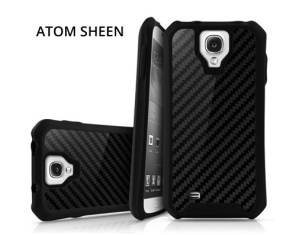 Atom Sheen carbon fiber case for Samsung Galaxy S4