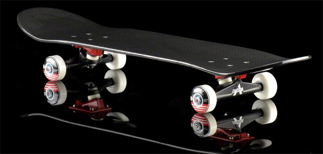 IXO carbon fiber skateboard