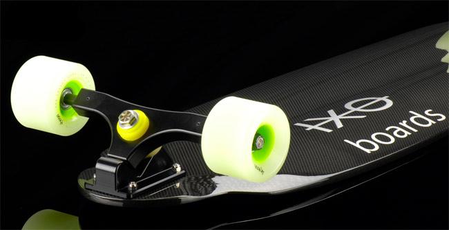 IXO carbon fiber longboard