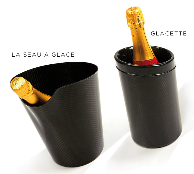 Aznom carbon fiber ice buckets