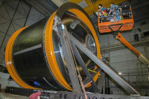 NASA Boeing cryotank testing