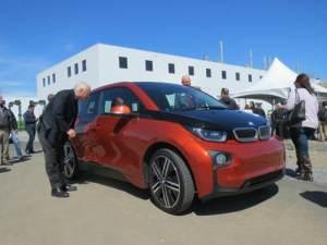 BMW all-electric i3 car