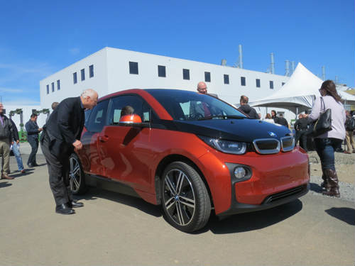 BMW all-electric i3 car