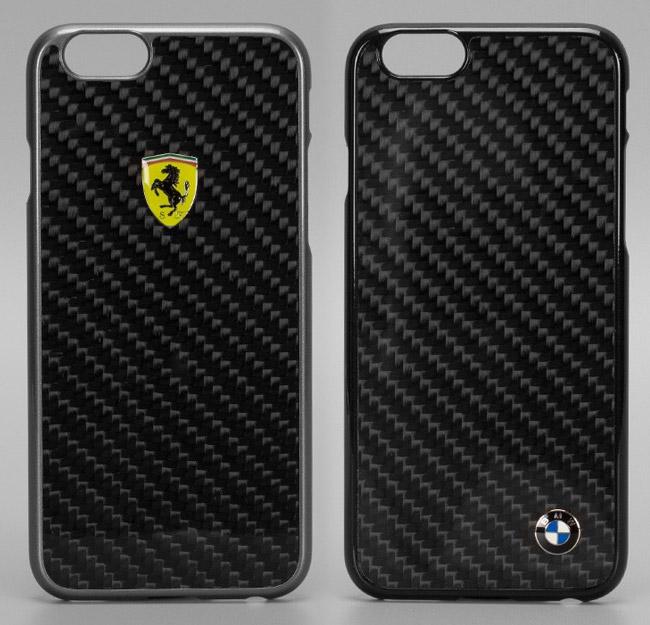 Ferrari and BMW carbon fiber case for iPhone 6