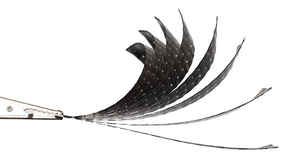 Bending carbon fiber