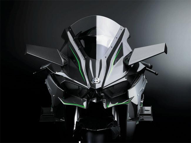 Ninja H2R Face