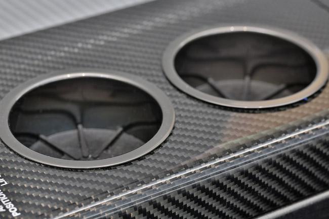 Carbon Fiber Cupholders