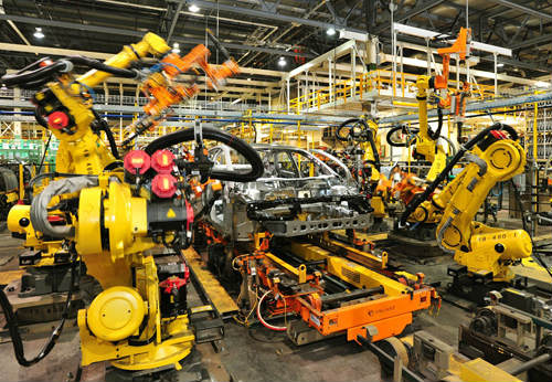 automotive assembly action