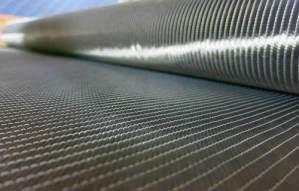 Carbon fiber quadraxial fabric