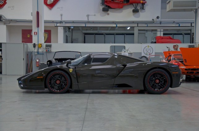 Exposed carbon fiber Enzo Ferrari