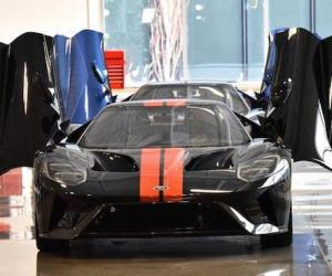 Ford GT off production line