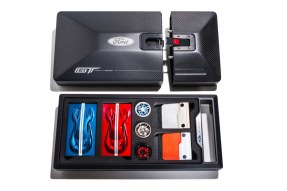 Ford GT carbon fiber kit box open