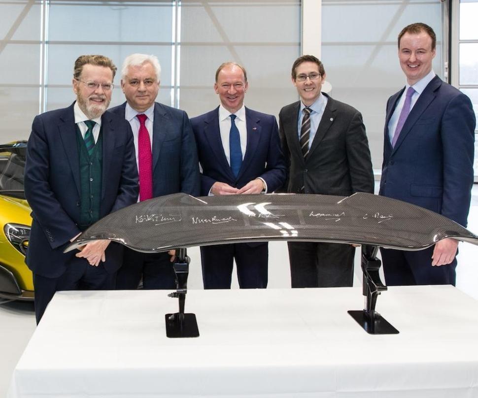 McLaren Automotive to establish new Composites Technology Centre