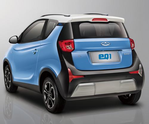 eQ1 electric vehicle