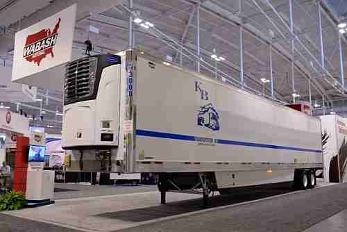 New refrigerated semi trailer incorporates hybrid composite-metal technology