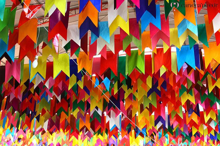 bandeirinha decoração festa junina