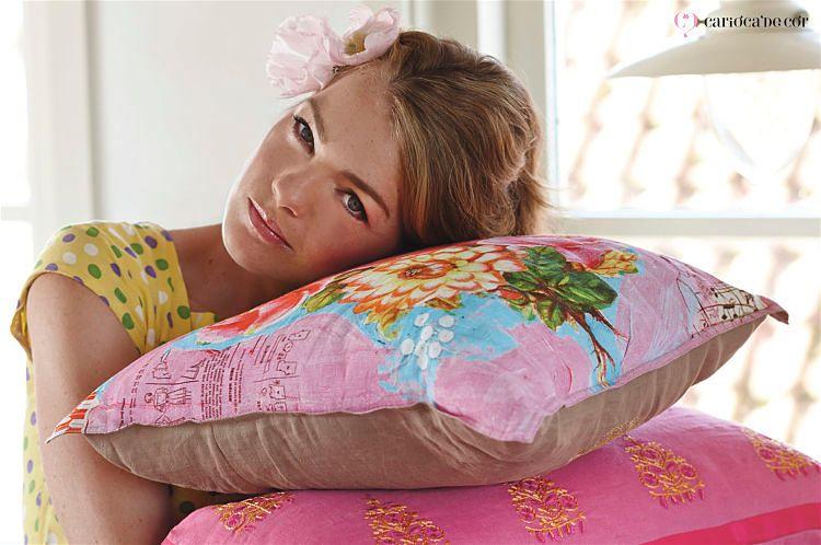 almofadas para decorar a cama
