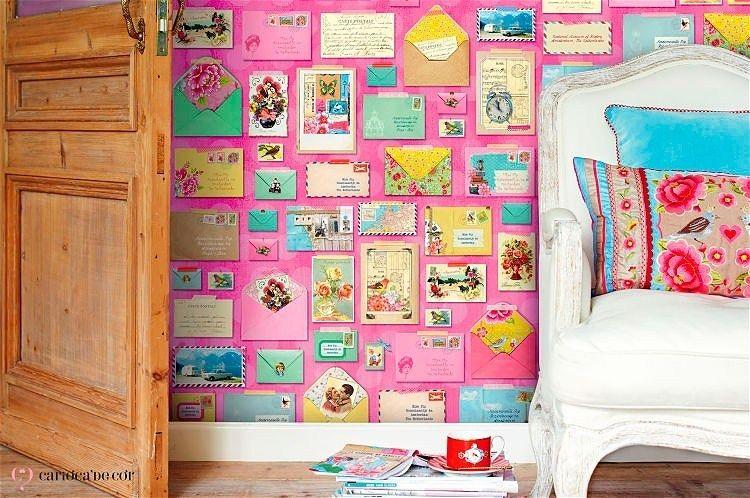 painel de papel de parede